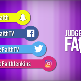 Syndicated TV – Judge Faith