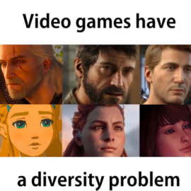 Video Games have a Diversity Problem