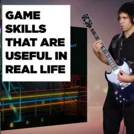 Video game skills that translate to real life