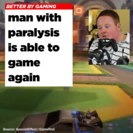 Custom Controller allows disabled gamer to play
