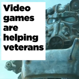 Video games are helping veterans